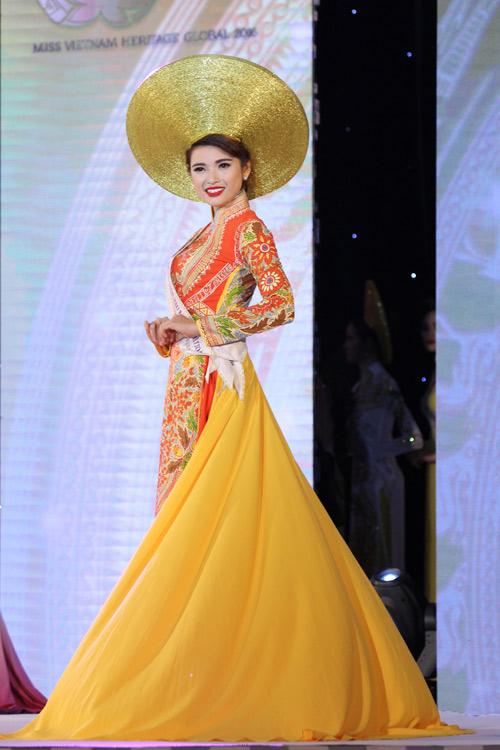 Lộ diện 15 mỹ nữ lọt vào vòng chung kết Hoa hậu Bản sắc Việt - 5