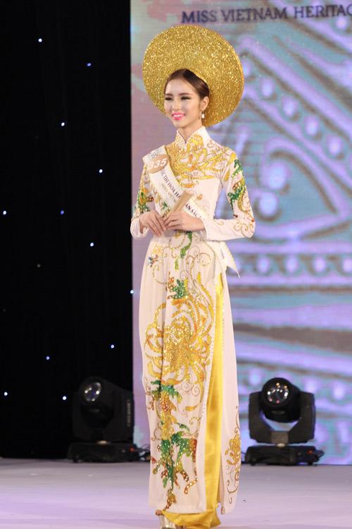 Lộ diện 15 mỹ nữ lọt vào vòng chung kết Hoa hậu Bản sắc Việt - 7