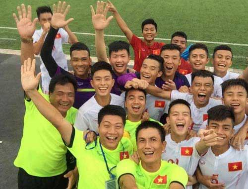 U16 Việt Nam toàn thắng - Hẹn Thái Lan ở chung kết - 1