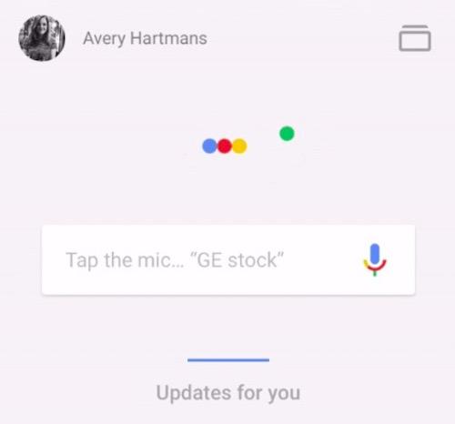 Hiệu ứng vui nhộn trong ứng dụng Google App - 1