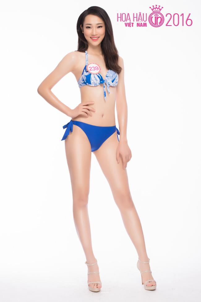 Ngắm ảnh bikini nóng bỏng của thí sinh Hoa hậu VN 2016 - 2
