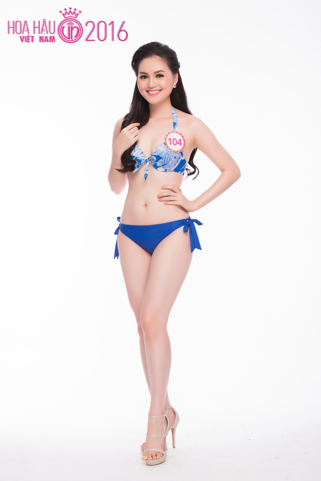 Ngắm ảnh bikini nóng bỏng của thí sinh Hoa hậu VN 2016 - 5