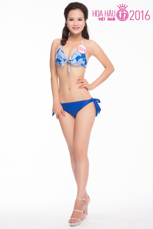Ngắm ảnh bikini nóng bỏng của thí sinh Hoa hậu VN 2016 - 7