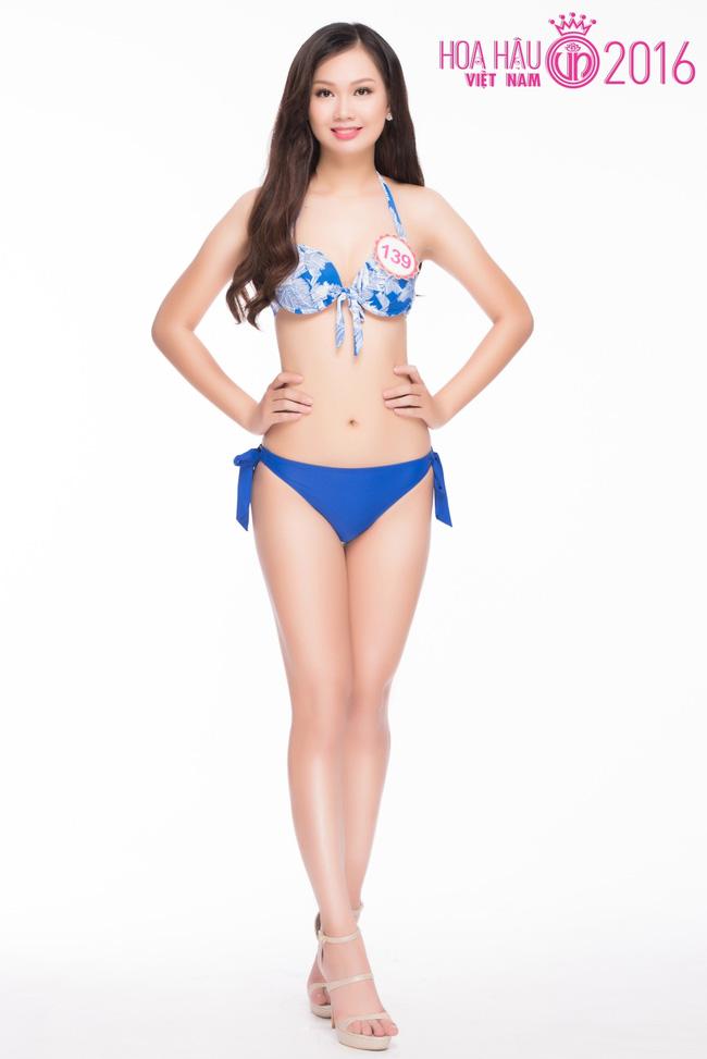 Ngắm ảnh bikini nóng bỏng của thí sinh Hoa hậu VN 2016 - 15
