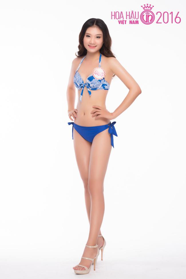 Ngắm ảnh bikini nóng bỏng của thí sinh Hoa hậu VN 2016 - 11