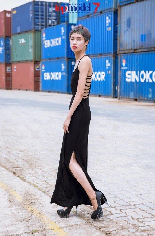 Thí sinh Vietnam's Next Top Model khoe street style cực ngầu - 6