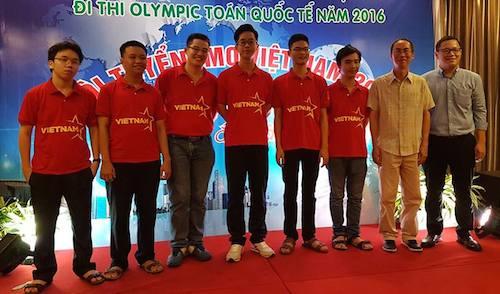 Việt Nam giành HCV Olympic Toán quốc tế 2016 - 1