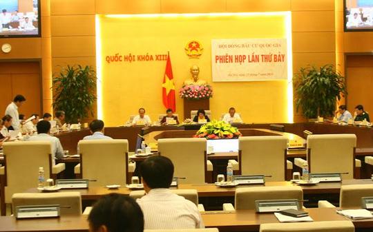 Bác tư cách đại biểu QH của ông Trịnh Xuân Thanh - 1