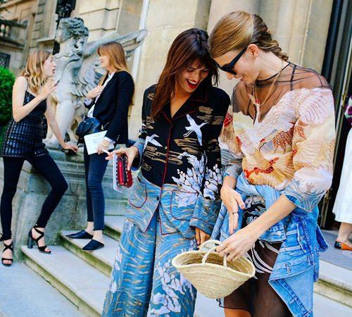 Mặc đẹp đẳng cấp như những quý cô Paris đi xem thời trang - 1