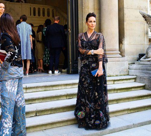 Mặc đẹp đẳng cấp như những quý cô Paris đi xem thời trang - 5