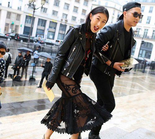 Mặc đẹp đẳng cấp như những quý cô Paris đi xem thời trang - 11