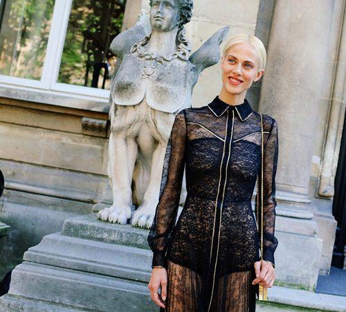 Mặc đẹp đẳng cấp như những quý cô Paris đi xem thời trang - 13