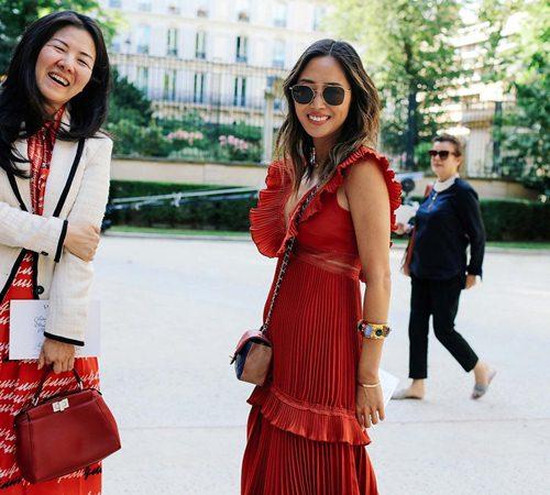 Mặc đẹp đẳng cấp như những quý cô Paris đi xem thời trang - 12
