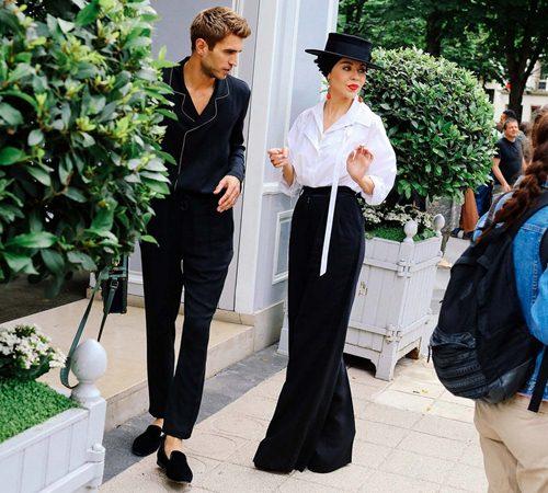 Mặc đẹp đẳng cấp như những quý cô Paris đi xem thời trang - 9