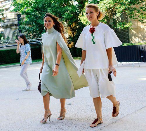 Mặc đẹp đẳng cấp như những quý cô Paris đi xem thời trang - 8