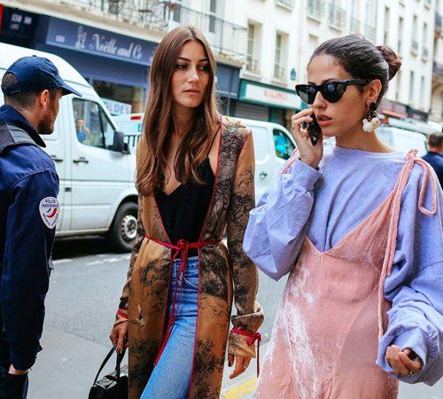 Mặc đẹp đẳng cấp như những quý cô Paris đi xem thời trang - 14
