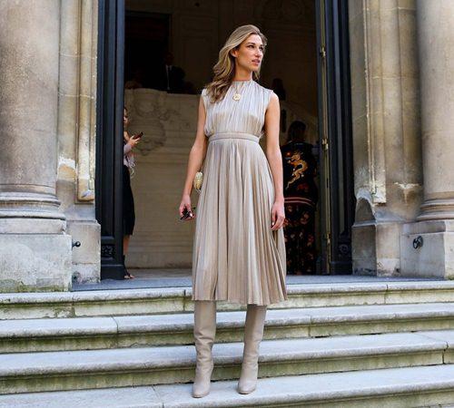 Mặc đẹp đẳng cấp như những quý cô Paris đi xem thời trang - 15