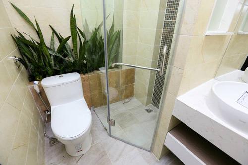 Biến phòng tắm cũ 4 mét vuông thành phòng tắm 5 sao - 8