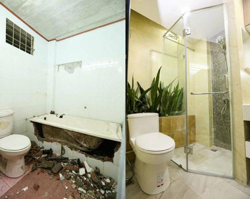 Biến phòng tắm cũ 4 mét vuông thành phòng tắm 5 sao - 5