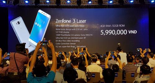 Asus trình làng Zenfone 3 Laser và Zenfone 3 Max giá mềm - 1
