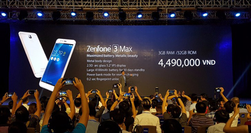 Asus trình làng Zenfone 3 Laser và Zenfone 3 Max giá mềm - 2