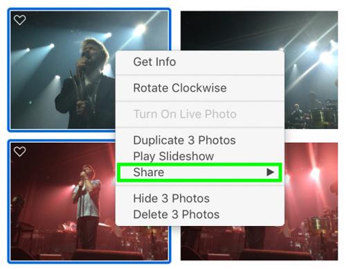 Cách chia sẻ hình ảnh lên Facebook, Twitter qua Apple Photos - 2
