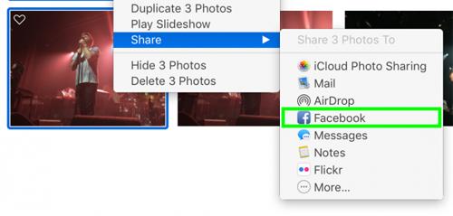 Cách chia sẻ hình ảnh lên Facebook, Twitter qua Apple Photos - 3