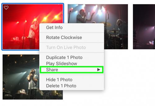 Cách chia sẻ hình ảnh lên Facebook, Twitter qua Apple Photos - 7