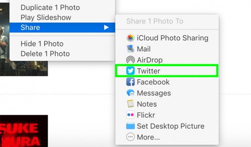Cách chia sẻ hình ảnh lên Facebook, Twitter qua Apple Photos - 8