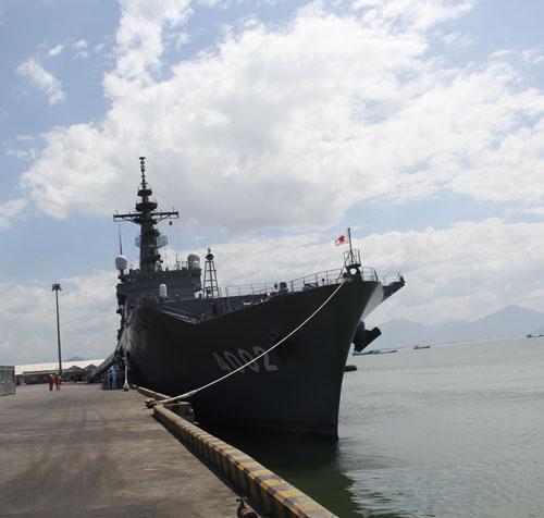 Tàu Hải quân Nhật và Hoa Kỳ cập cảng Tiên Sa - 1