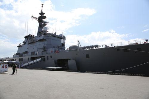 Tàu Hải quân Nhật và Hoa Kỳ cập cảng Tiên Sa - 2