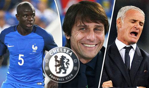 CHÍNH THỨC: Kante về Chelsea, Conte tiếp tục chi tiêu - 3
