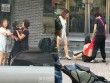 Cô gái bị xé quần áo, cắt tóc trên phố vì nghi ngoại tình