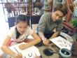 Huy Nam hào hứng cùng bạn nhỏ lên đường học viết thư pháp