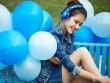 Những mỹ nữ đẹp dịu dàng bên tai nghe Somic