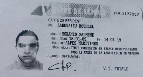 Hình ảnh đầu tiên của kẻ khủng bố bằng xe tải ở Pháp - 1