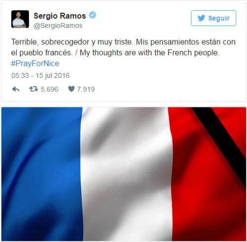 Sao 360 độ: Ramos, Nadal chia buồn cùng nước Pháp - 1