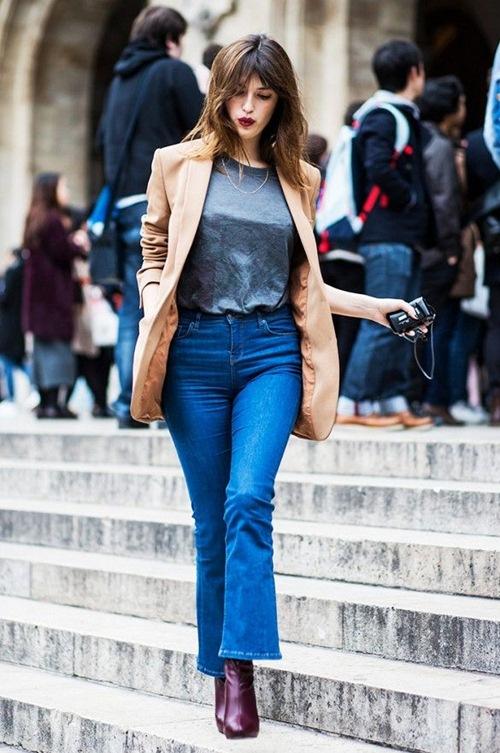 Bạn đã biết mặc quần jeans lửng đúng cách? - 1