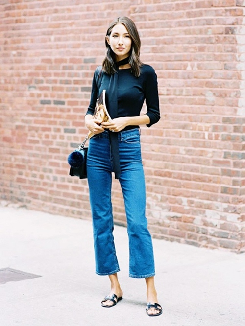 Bạn đã biết mặc quần jeans lửng đúng cách? - 2