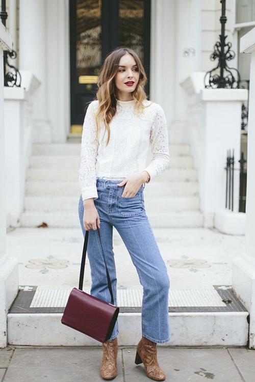 Bạn đã biết mặc quần jeans lửng đúng cách? - 7