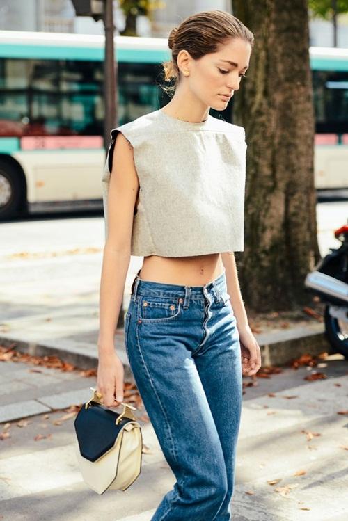 Bạn đã biết mặc quần jeans lửng đúng cách? - 9