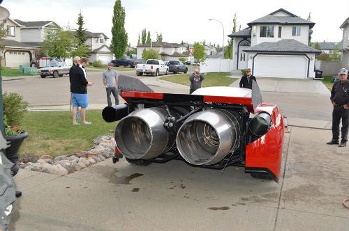 Độc dị xe Ferrari Enzo độ động cơ máy bay khủng - 2