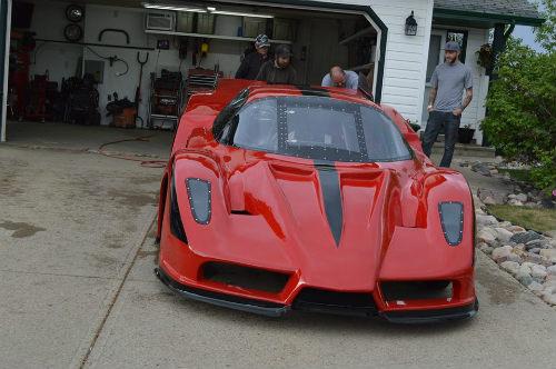Độc dị xe Ferrari Enzo độ động cơ máy bay khủng - 3