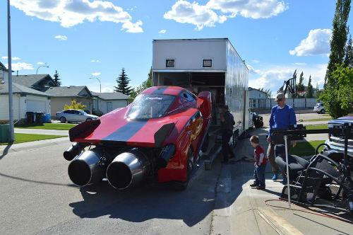 Độc dị xe Ferrari Enzo độ động cơ máy bay khủng - 7