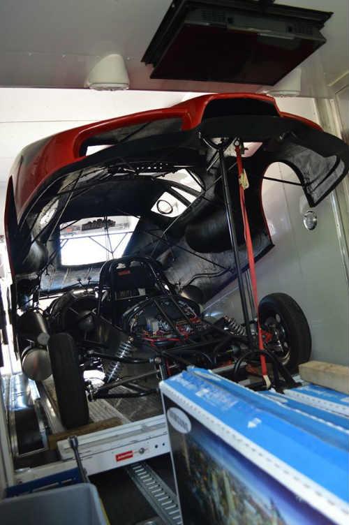 Độc dị xe Ferrari Enzo độ động cơ máy bay khủng - 9