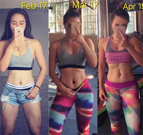 Loạt hot girl phòng gym Việt đạt chuẩn đẹp sexy mới - 11