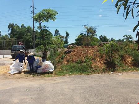 Phát hiện thêm 10 tấn chất thải Formosa giữa khu dân cư - 2