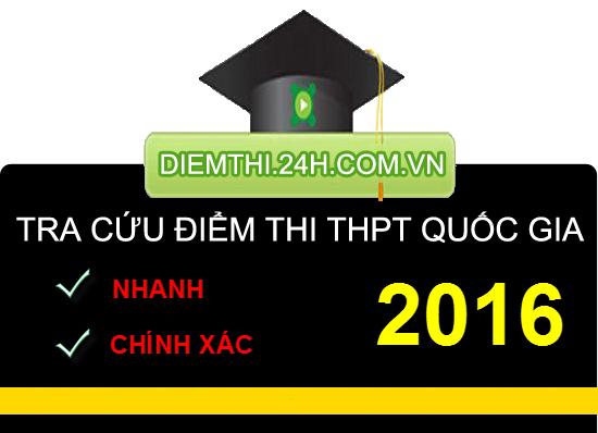 Xem điểm thi THPT Quốc Gia 2016 của 70 cụm thi Đại học - 1