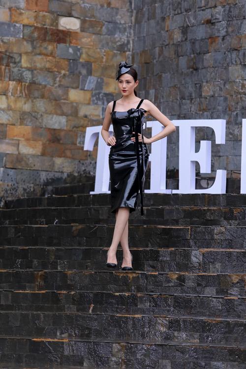 """Quỳnh Mai """"siêu vòng 3"""" đánh bật An Nguy ở The Face - 4"""