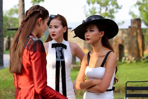 """Quỳnh Mai """"siêu vòng 3"""" đánh bật An Nguy ở The Face - 8"""